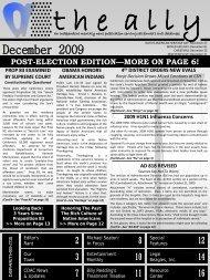 November-December 2009 Edition - Defense for SVP