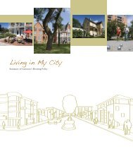 Living in My City - Ville de Gatineau