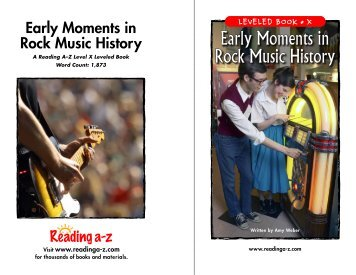 Early Moments in Rock Music History - normela7