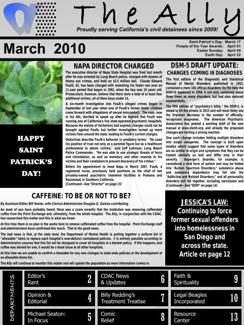 UNCENSORED version of the March 2010 edition ... - Defense for SVP