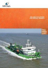 Reliable Solutions for Special Vessels - Wärtsilä