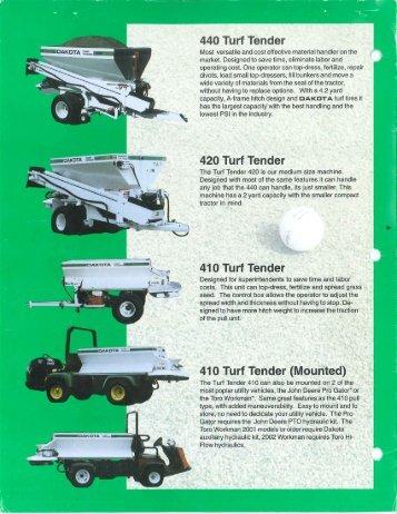 440 Turf Tender - Public Surplus