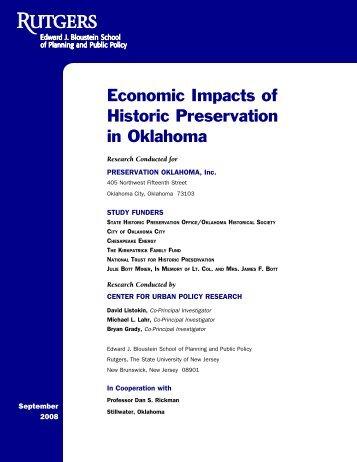 Economic Impact Study - Complete - Oklahoma Historical Society