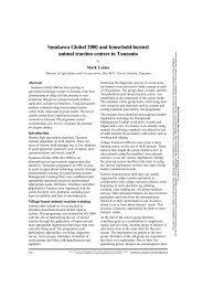 Sasakawa Global 2000 and household-located animal traction ...