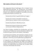 Vorlesungsverzeichnis SS 2013 - Institut für Kunst im Kontext - Page 4
