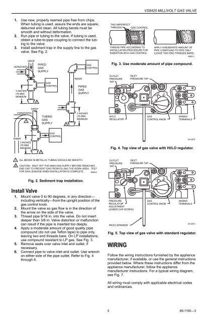30 Millivolt Gas Valve Wiring Diagram