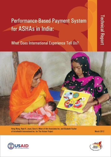Performance-Based Payment System for ASHAs in India