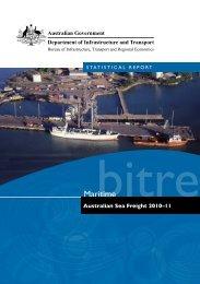Statistical report Australian sea freight 2010–11