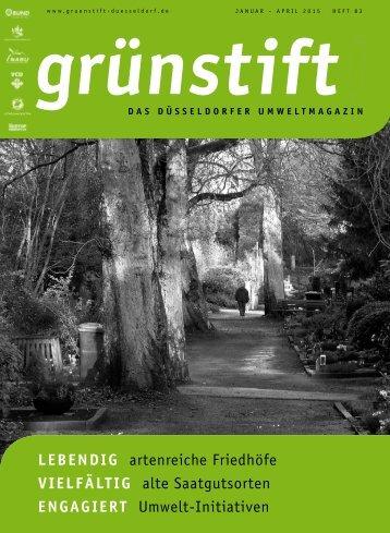grünstift - das Düsseldorfer Umweltmagazin