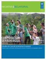 CORPORACION SERRANIAGUA - Equator Initiative