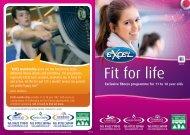 EXCEL Programme including Larkfield Leisure Centre - Tonbridge ...