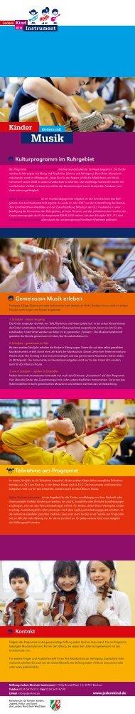 Programm-Leporello auf Deutsch, Türkisch, Polnisch und Serbisch