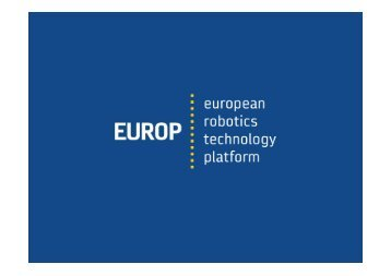 What the EUROP Secretariat will do for you - European Robotics ...