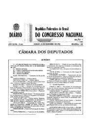 DO CONGRESSO NACIONAL DIÁRIO - Câmara dos Deputados