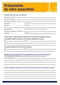 Association - Demande de subvention - Page 4