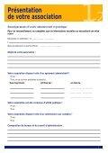 Association - Demande de subvention - Page 5