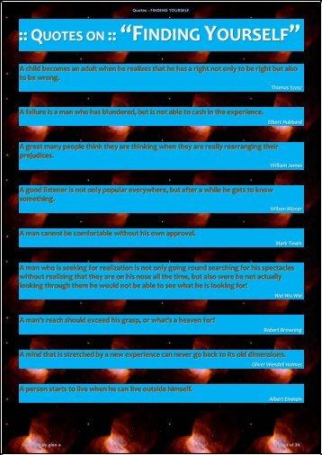 "Quotes on ""Finding Yourself"" - Kundalini Awakening Systems 1"