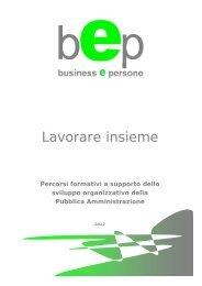 Lavorare insieme - bep business e persone srl