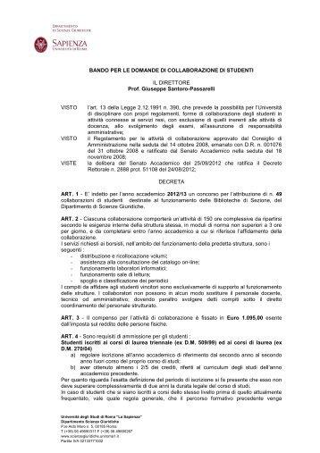 Scarica il PDF - Scienze giuridiche - Sapienza