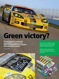 The motorsports community contemplates winning races while ...