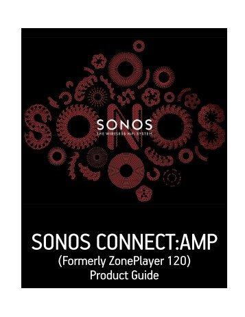 SONOS CONNECT:AMP Back - Phone Experts