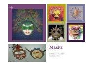 Masks Presentation - Teaching Ideas