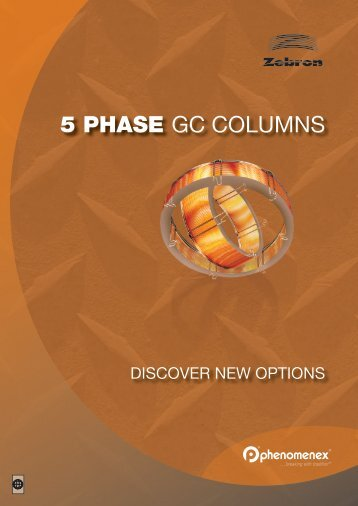 5 PHASE GC COLUMNS - Phenomenex