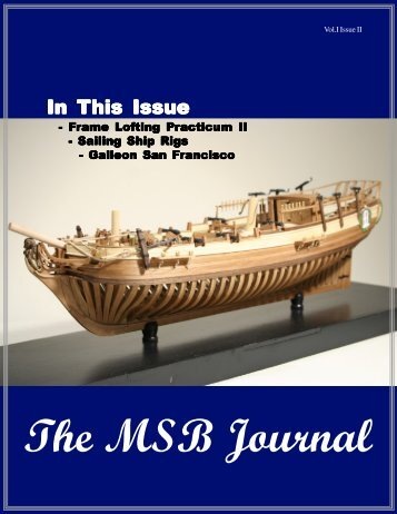 In this issue of the msb the msb journal model ship builder april model ship builder publicscrutiny Image collections