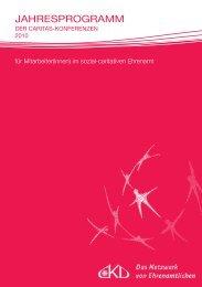 jahresprogramm - Caritas-Konferenzen Deutschlands - Rottenburg ...