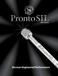 ProntoSIL Product Catalog - MAC-MOD Analytical Inc.