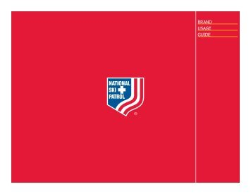 Brand Usage gUide - National Ski Patrol