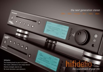 The Next Generation Stereo - DecorDigital