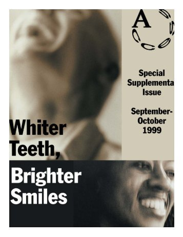 Whiter Teeth Brighter Smiles - American Dental Hygienists