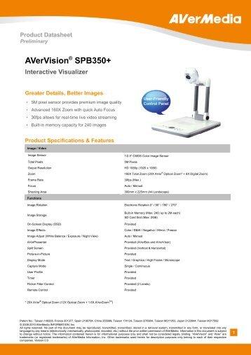 AVerVision® SPB350+ - Medium