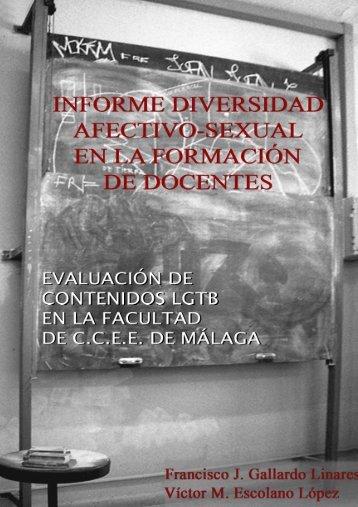 Informe Diversidad Afectivo-Sexual en la Formación de Docentes ...