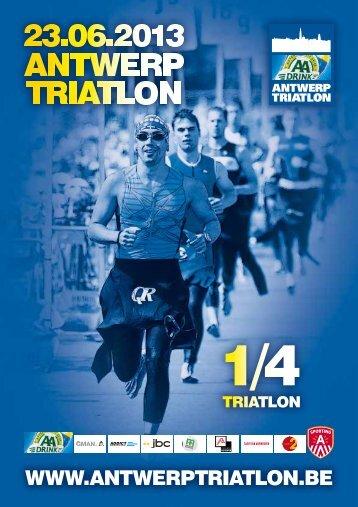 Deelnemersinformatie voor de 1/4 triatlon (PDF) - Msn