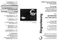 Peter Gülke - Staatliche Hochschule für Musik und Darstellende ...