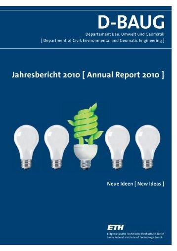 D-BAUG - Departement Bau, Umwelt und Geomatik - ETH Zürich