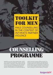 Flyer Toolkit for Men - Rutgers WPF