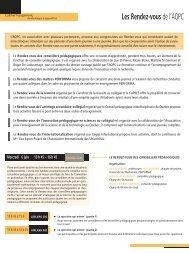 Les Rendez-vous de l'AQPC 6, 7 et 8 juin 2012