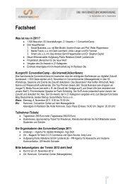 Factsheet - ConventionCamp