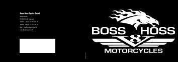 Boss Hoss Cycles GmbH - Boss-Hoss Germany