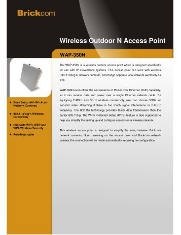Wireless Outdoor N Access Point