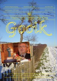 Nummer 86.qxd - Heemkundige Kring van Gooik