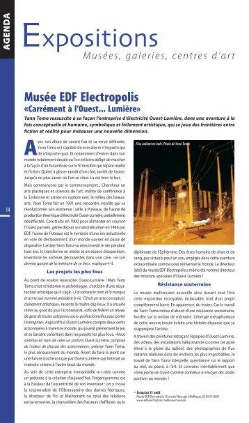 Musée EDF Electropolis - JDS.fr