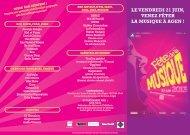 Le VeNDReDI 21 juIN, VeNeZ fêteR LA MuSIQue à ... - Ville d'Agen