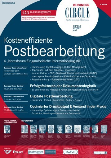 PDF-Programmbroschüre - Business Circle