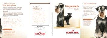 Kääpiösnautserille kehitetty ravinto- ohjelma - Royal Canin
