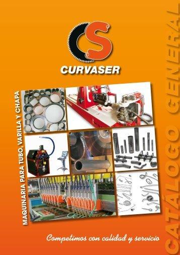 catalogo en pdf. - Curvaser