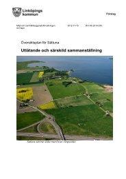 Utlåtande och särskild sammanställning - Linköpings kommun